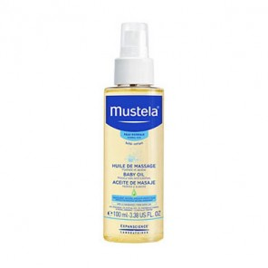 Mustela Huile de massage spray 100 ml