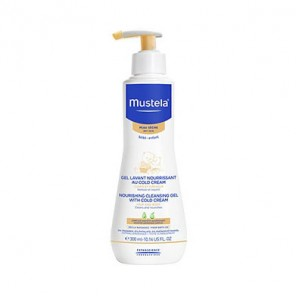 Mustela Gel lavant nourrissant au cold cream flacon pompe 300ml