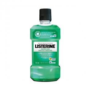 Listerine Protection dents & gencives bain de bouche quotidien 500ml
