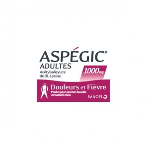 ASPEGIC 1000 PDR SAC 20