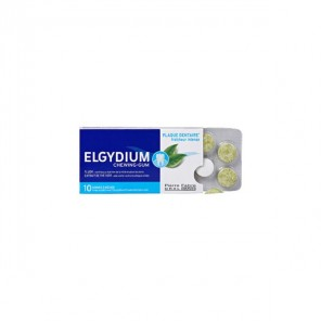 ELGYDIUM CHEWING GUM A/PLAQUE 10