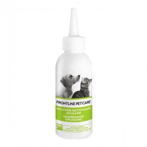 Frontline pet care solution nettoyante oculaire 125ml