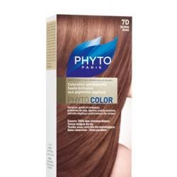 Phyto color couleur soin 7d blond doré kit