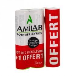 Amilab baume lèvres 3 sticks x3.6ml